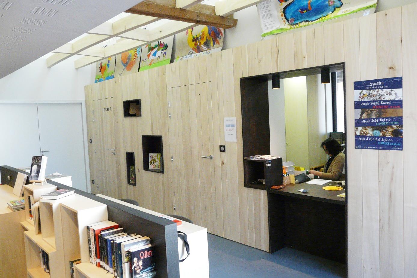 Bibliothèque de Parçay-les-Pins