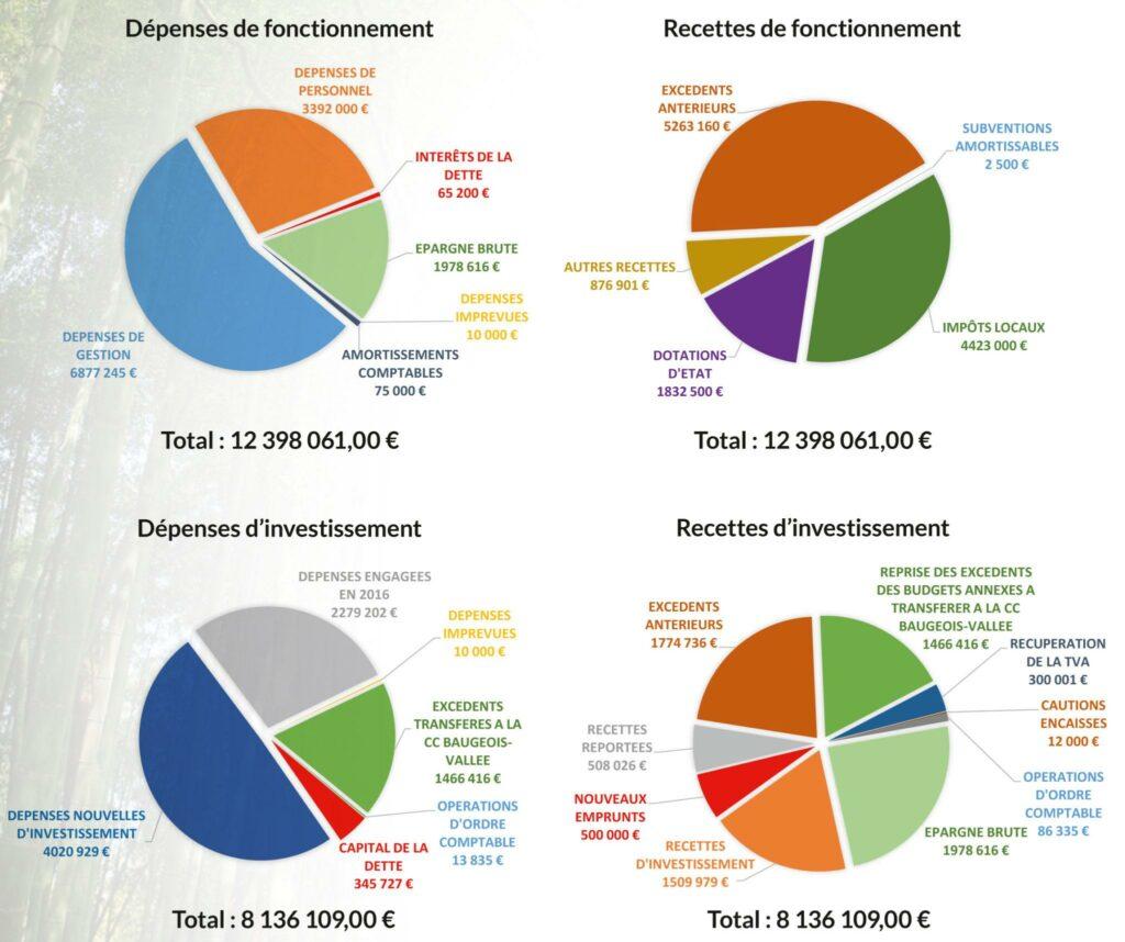 Budget prévisionnel 2017