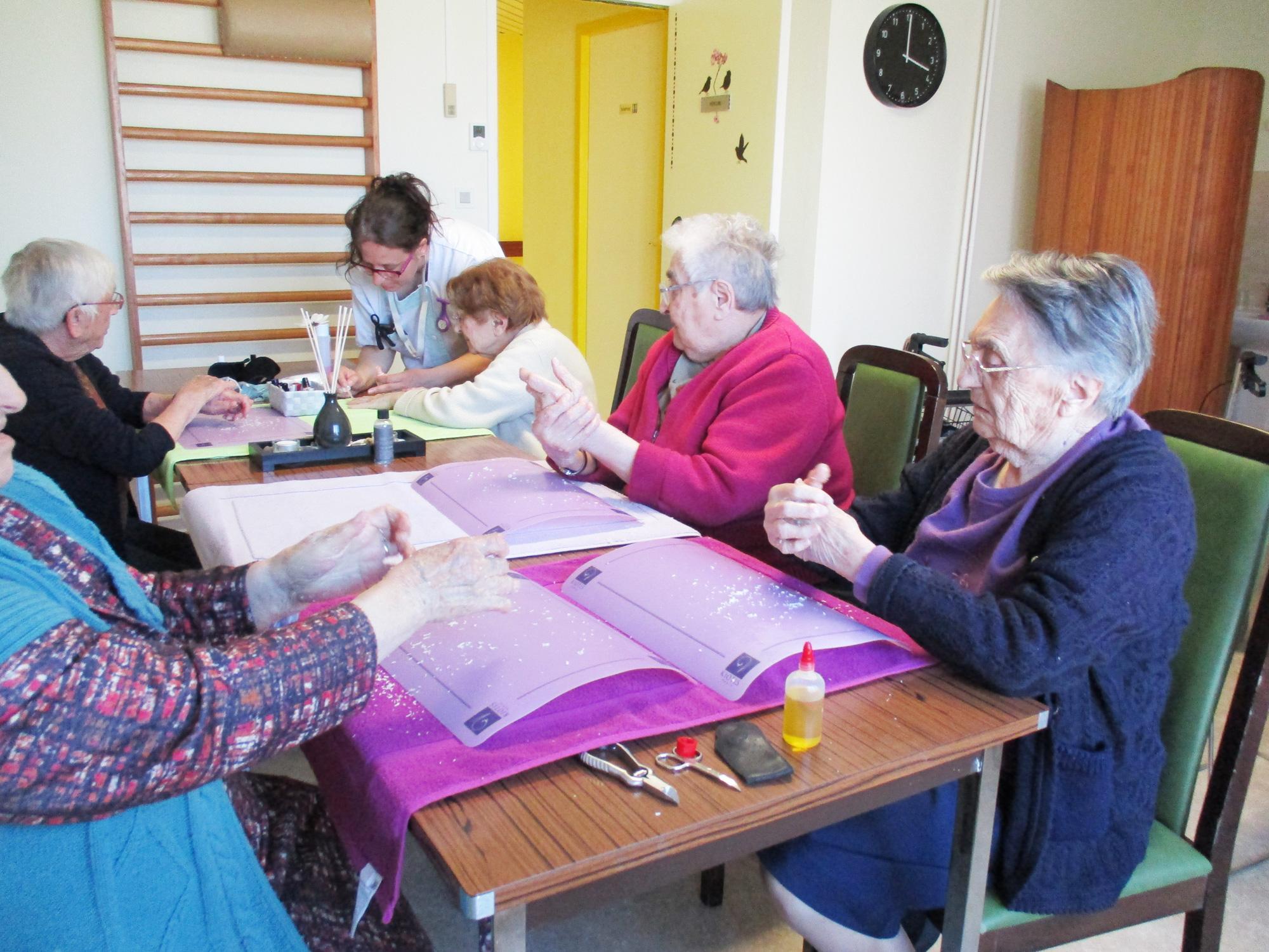Résidence autonomie de Parcay : atelier bien-être
