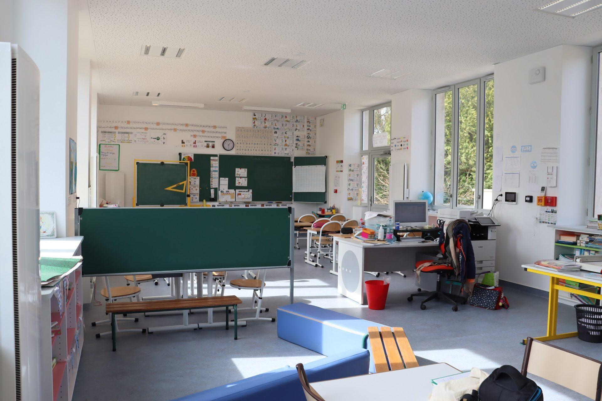 Salle de classe - Genneteil