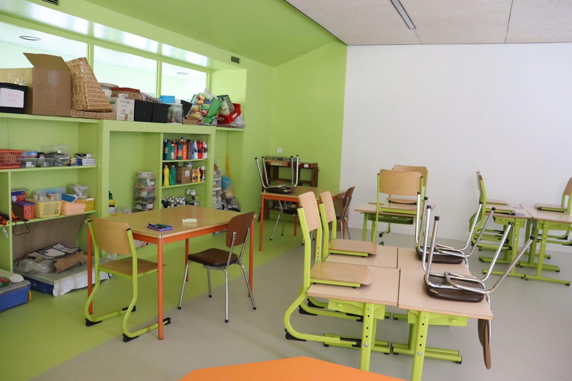 Salle d'arts plastiques et travaux - Parçay-les-Pins